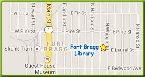 Fort Bragg Library Map