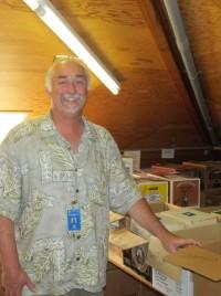 Wally Clark, Librarian