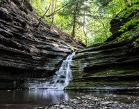 Earth Day waterfall