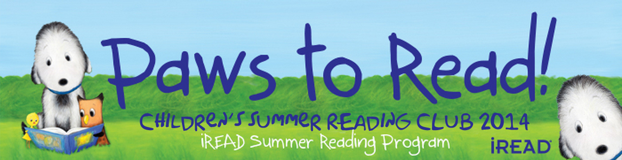 Paws to Read banner