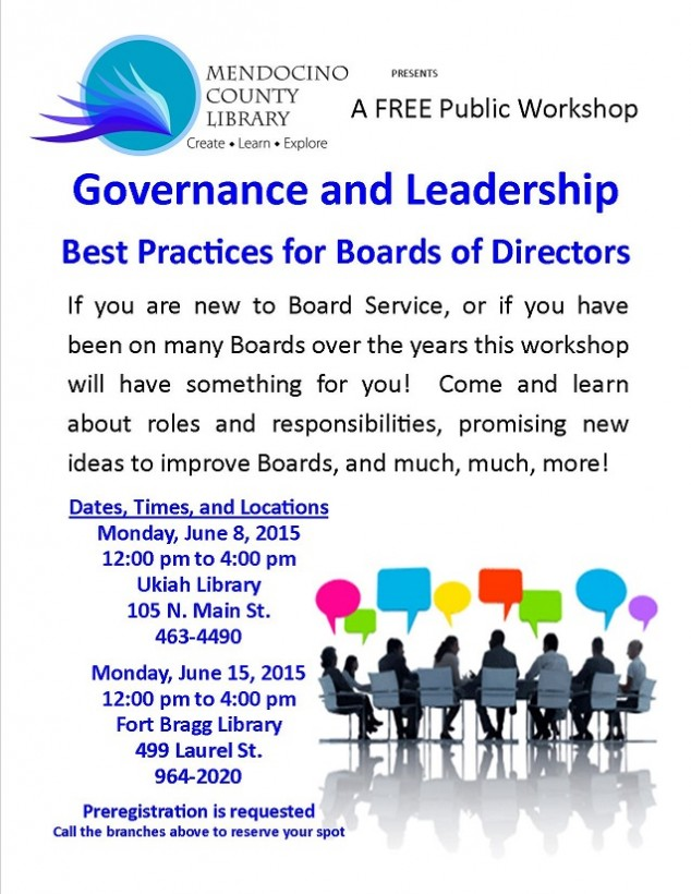 Governance and Leadership