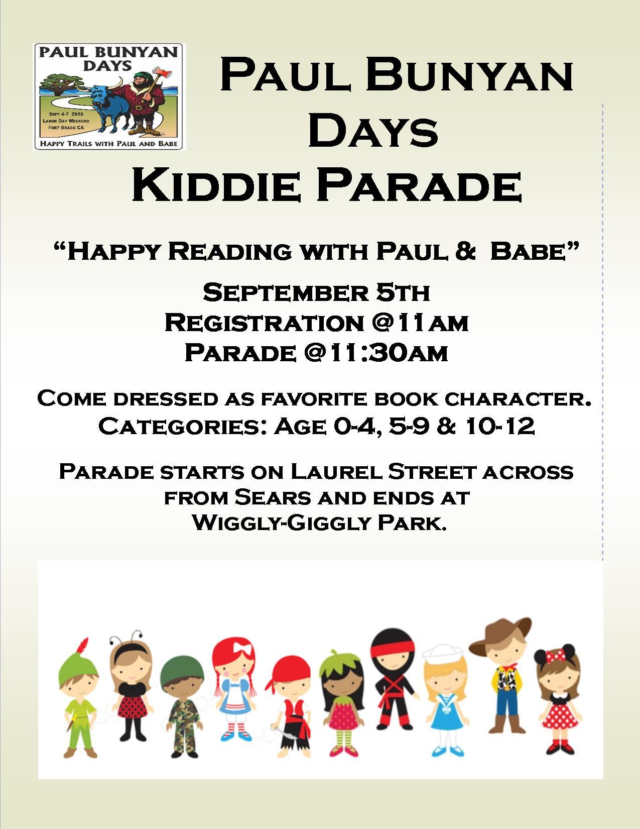 paul bunyan kiddie parade