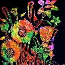 scratch art flowers