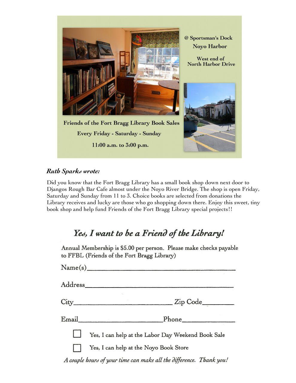 Ffbl Newsletter V 3 Page 3 Fort Bragg Library