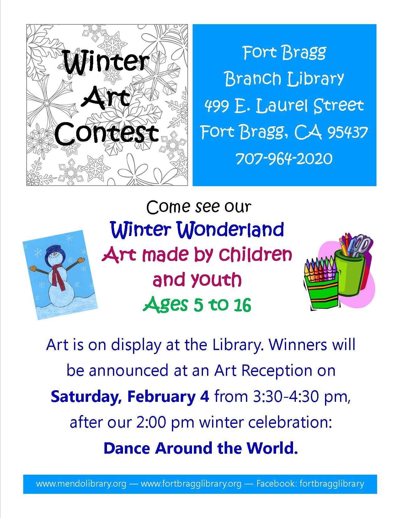 Winter Youth Art Reception