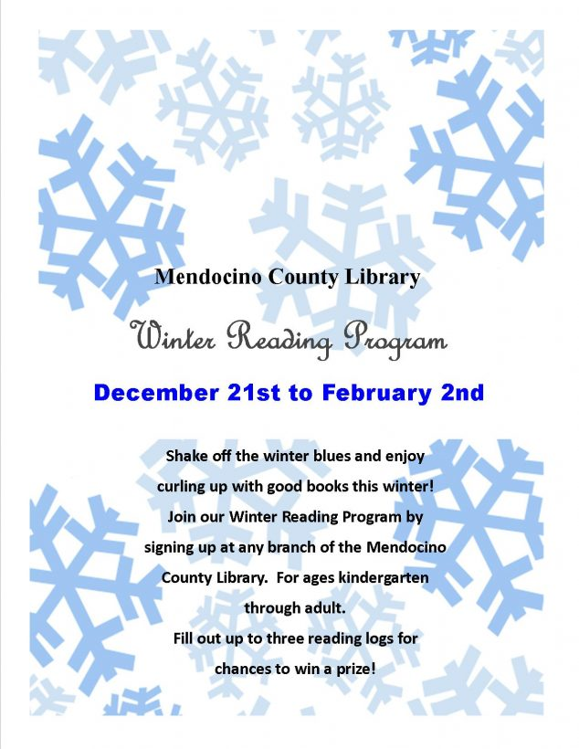 First Annual Winter Reading Program - Fort Bragg Library