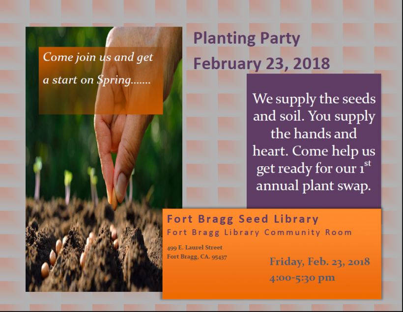 Seed Planting Party