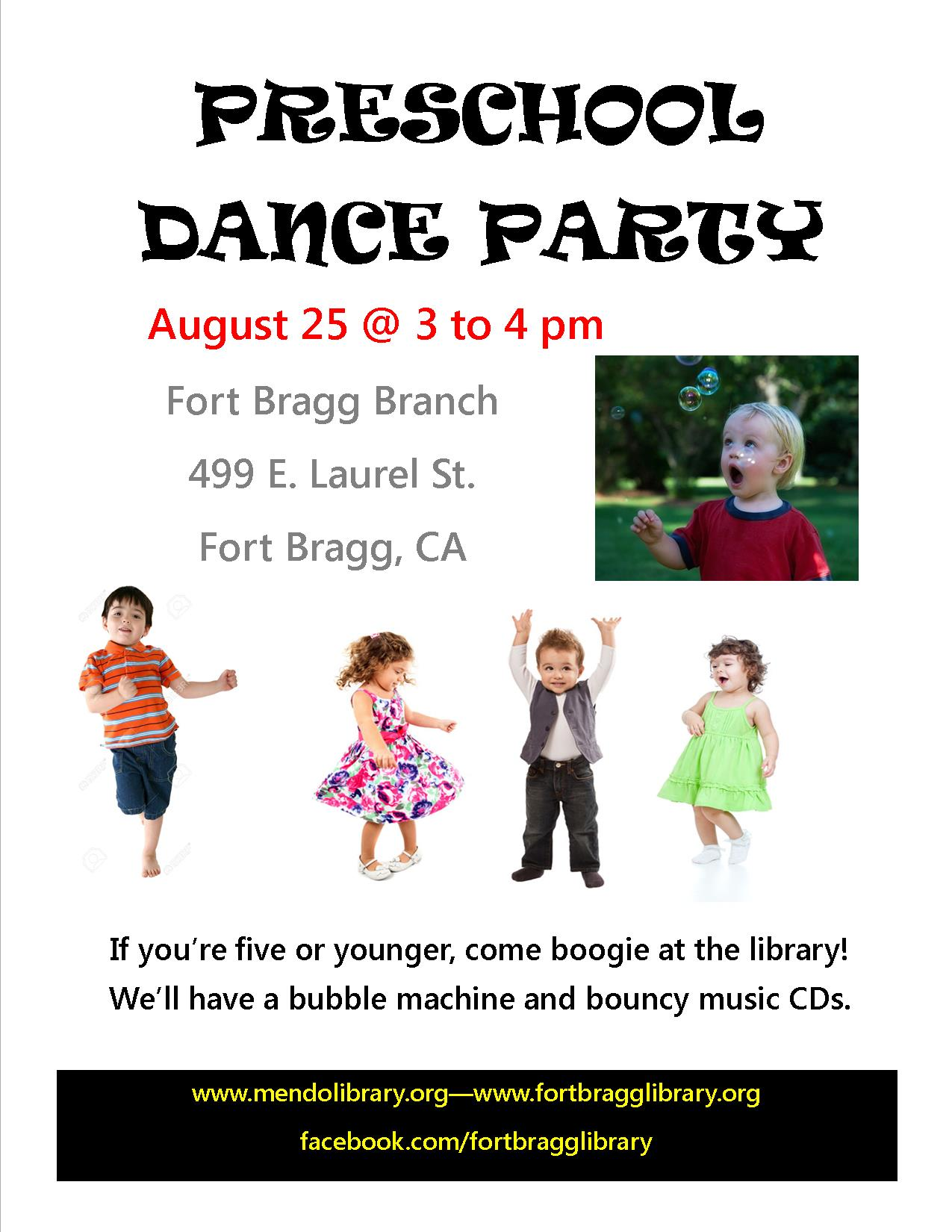 Preschool Dance Party