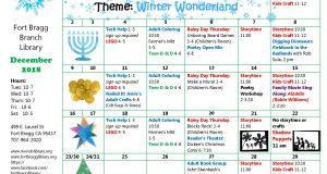 2018 December Calendar