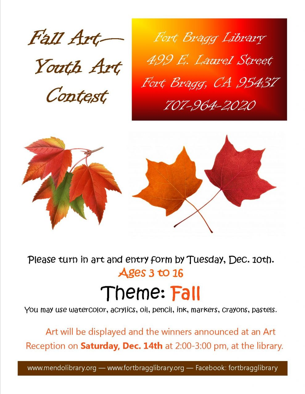 Fall Youth Art